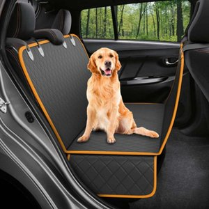 Dog Carrier Car Seat Cover Pet Hammock Waterproof Carrier Thickened Oxford Fabric Trunk Cover for Pets Travel Accessories