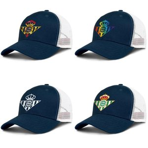 Real Betis Los Verdiblancos RBB Adjustable Trucker Cap Fashion Baseball Hat Vintage Dad Ball Caps for Men Women Flag Gay pride rainbow
