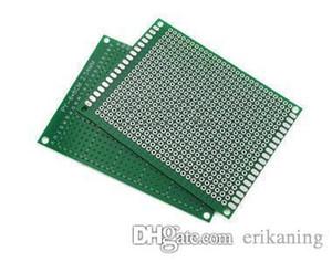 6x8cm fai da te prototipo di carta PCB universale circuito unico lato scheda 1,6 millimetri 2,54 millimetri in fibra di vetro