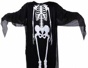 Halloween Kostüme Capes Erwachsene Kinder-Partei-Verein Geist Cosplay Menschliches Körperstruktur Print Kostüme Herren Damen Kinder Capes Cosplay ESSR #