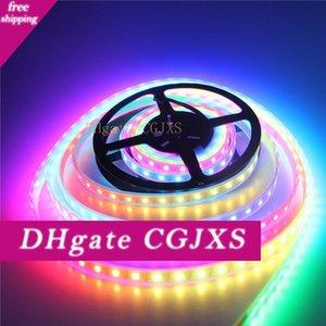 16 .4ft 300 LED Ws2812b einzeln adressierbaren 5050 RGB LED Streifen-Licht LED-Pixel flexible Lampen-Schlauch wasserdicht Weiß Pcb