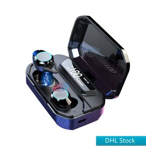 DHL Stock Free Shopping X6 Bluetooth écouteurs sans fil casque sans fil Sport écouteurs Ear Buds basse pour Xiaomi Huawei Samsung