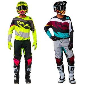 New Sete MX anexo Dirt Bike Gear Set Top Off Road Suit Motocross Jersey E Pant