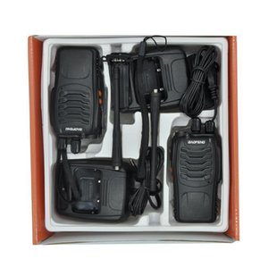 BF-888S Walkie Talkie 5W Handheld Two Way Radio bf 888s UHF 400-470MHz Frequency Portable CB Radio Communicator