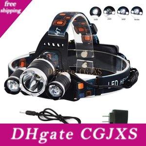 Led Phares 5000 Lumen Super Bright 3x Xml T6 phares Phares 18650 Head Light lampe avec chargeur de voiture