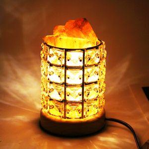 Himalayan Crystal Salt Lamp Bedlight Night light Gift