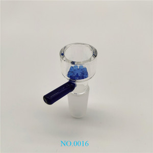 Hotsale Popular Glass Bowl Holder 14mm  18mm Male with Small Flower Bottom Bowls for Glass Bongs Oil Rigs Water Pipes pp