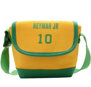 Neonate Borsa del messaggero di modo il sacchetto dei bambini Sporting Numero Canvas Shoulder Bag accessori