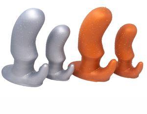 Huge Soft Silicone Anal Plug Outdoor Prostate Massage Butt Plug Anus Expander Vagina Dildo Masturbation For Men Woman Gay Adult Sex Toy