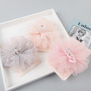 Las pinzas de pelo 15pcs floral INS Boutique Royal Glitter tiaras de las horquillas sólido Corona cordón de la manera de Headwear princesa Accesorios para el cabello
