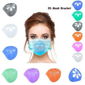 3D Máscara de soporte 6 colores reutilizable de protección labial ayuda del soporte del interior de la nariz Aumentar Breathing Space Boca sostenedor de la cubierta 200pcs T1I2331