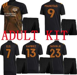 Nouvelle taille: S-XXL 2020 Houston Dynamo Soccer Jersey 20 21 Adulte Elis Martinez Quioto Manotas Beasley Football Shirts