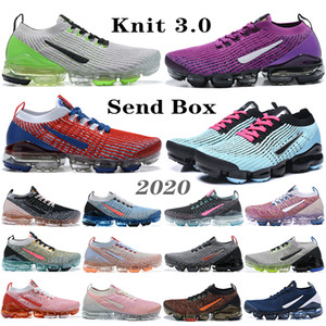 nike vapormax airmax flyknit fly knit air max Fly 3.0 Hommes de course Noble Rouge Gris foncé total Orange Beach South pPurple Vivid 3.0 Knit Femmes Ourdoor Sneakers