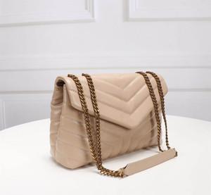 Le donne calde Mini borse Genuine borsa giocattolo LOULOU cuoio di vibrazione di borse a tracolla con Oro Argento catena di metallo borsa a tracolla progettista delle donne del partito