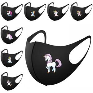 Ушной Складная Unicorn маска Удобный Прочный Mascarilla Велоспорт Protectio дыхания Респиратор лето на открытом воздухе Горячие Продажа 4 5SW E2