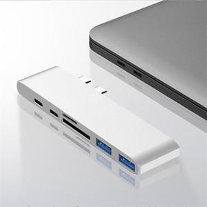 USB 3.1 Type-C-концентратор с адаптером HDMI 4K Thunderbolt 3 USB-концентратор C с концентратором 3,0 TF SD слот чтения PD для MacBook Pro / Air 2020