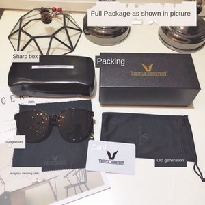 b0AeK Neue V-Marke Verpackung GM Sonne Tuch Boxsack Sonne Fall Tuch Gläser Original Brillenetui