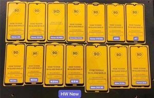 Für Huawei Mate30 Lite Mate20 20 30 P30 Mate-P30LITE P20 PR0 P Smart z Plus Y5 Y6 Y7 Y9 2019 9D volle Deckung voller Klebstoff aus gehärtetem Glas