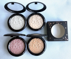 Face Contour Highlighter Powder Opalescent Powder Shimmer Long-lasting Brighten Five Pointed Star Makeup Fond De Teint