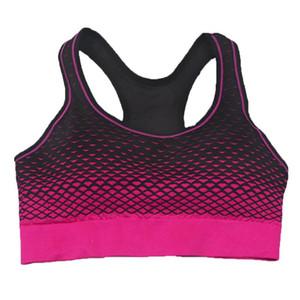 Las mujeres de impresión profesional sujetador de los deportes inalámbrica sin ropa interior atractiva de Ejecución de fitness culturismo ropa de dormir para damas 2020