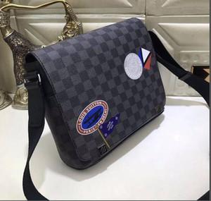 Louis Vuitton Designer Messenger Bags LuxuxMens Gürteltasche Fashion Schultertasche Marke Crossbody Beutel der neuen Art-Luxus-Fanny-Satz Male-Office-Paket