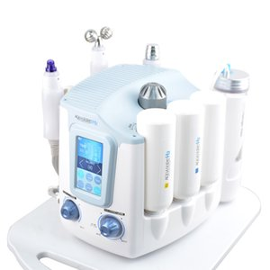 Newest 3 in 1 Hydro Microdermabrasion Hydra Facial Deep Cleaning BIO Microcurrent Face Lift Skin Tightening Treatment Spa Beauty Machine