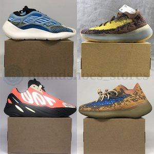 Yeezy 350 v2  Kanye West 700 del tinte del lazo del fósforo de los zapatos corrientes V3 Azael Alvah 500 Utilidad Negro para mujer para hombre de las zapatillas de deporte Deportes