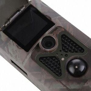 TOPHd 1080P 16MP Hc550A Cámaras Caza 20 pulgadas TFT LCD Monitor de rastro de la caza de la cámara de vídeo campo Scouting cámara de infrarrojos Deer Trail C # 45zB