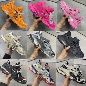 balanciaga balenciaga 2020 럭셔리 디자이너 남성 여성 캐주얼 신발 트랙 2 스니커즈 19FW 화이트 2 트랙 레이스 업 조깅 운동화 3M 배 S 하이킹 CHAUSSURES RKRC 번호