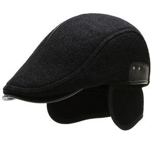 القبعات 2021 البيريه فام الرجال الشتاء مربع أبي قبعة أزياء الأزياء القبعات الكلاسيكية للرجال الفرنسية
