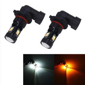 2 PCS brilhante super P13W / H3 / H1 / H11 / H8 / H10 / H4 / H7 / 9006/9005 DC 12V 5W carro 350LM Auto nevoeiro com 16 SMD-3030 LED lâmpadas