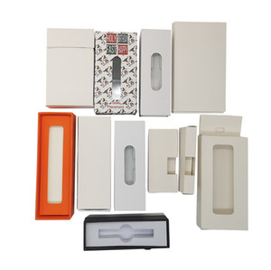 Customized Packaging Box Custom Logo Vape Cartridges Packaging Childproof Paper Cards Battery Package Preroll Cigarette Blister Packing