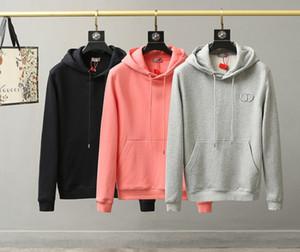 20 nuevos amantes DIO mens de la llegada del diseñador del suéter con capucha de algodón jersey clásico CD bordado ropa de invierno suéter streetwear