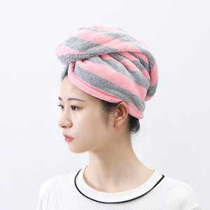 Dry Hair Caps shower caps Hooded Headscarf Female Cute Thickening Quick-drying Hair Absorbing Wash Shower Cap Dry Hairs Towel