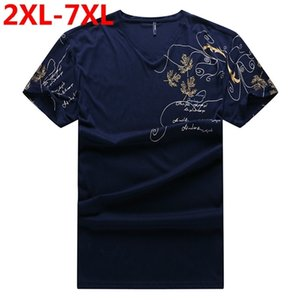 new Plus size 9XL 8XL 7XL 6XL 5XL Fashion Mens summer brand Cotton palace Short sleeves Leisure t-shirt 3d printed t-shirts 0924