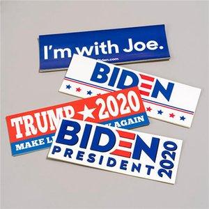Biden Adesivi auto 2020 US Presidential ElectionSurrounding promozionale Sticker Poster 10pcs per Set Biden Adesivi IIA459