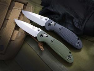 Benchmade BM Mini 556/555 Mini AXIS faca 154cm lâmina pega em nylon faca Outdoor Camping Faca BM940 BM555-1 BM810 BM42