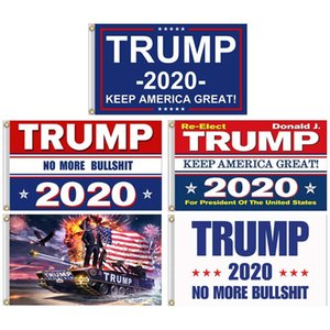 Free Shipping Trump Election 2020 Flags And Banners 5x3 Feet Keep America Great Election Banner Flag 100D Polyester Print Trump Flag