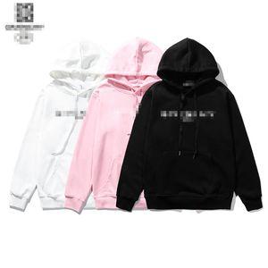 Luxus Brief Pullover Liebhaber Sweatshirts mit Hut Upscale Cotton Oberbekleidung Herbst-Winter-Mantel für Frauen Männer