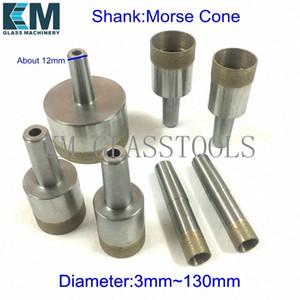 Livraison gratuite! Morse cône Diamètre: 3 mm ~ 130 mm. Bonne qualité concrétion diamantée trépans de base, pour la machine de forage en verre. 3eoq #