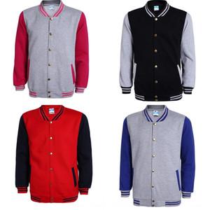 JHzog Baseball outono suor sportswear terno e inverno coreano camisola do estilo classe uniforme de beisebol publicidade trabalho uniforme camisa activit