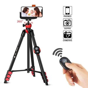 ZOMEI T60 porta cellulare con Bluetooth Remote Control Camera Tripod per il telefono per DSLR azione