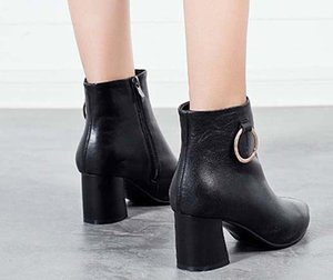Classics Fashionable And Exquisite Womens Boots High Heels And Genuine Leather Outdoors fashion boots 01 P51