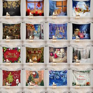 Decorações de Natal Tapeçarias Tapeçarias de Natal Quarto fundo Sala de Estudo Sala de pano Início Detalhes no 5 Tamanho XD24008