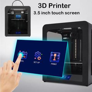 EZT3D 3D Printer 3.5 inç dokunmatik ekran Ağaçkakan DIY Takımı Yüksek Hassas Platformu Wifi Dokunmatik Masaüstü Kolay Yapı