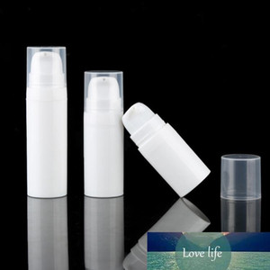 5ml 10ml White Airless Lotion Bottle Mini Sample and Test Bottle Airless Container Cosmetic Packaging