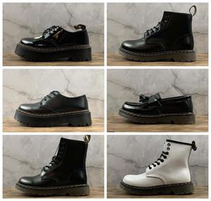 Лучшие качества Мартин сапоги 1461 Мужчины Женщины Boots Black 1460 Sinclair Smooth Женская кожа Платформа Сапоги Eur 35 -46