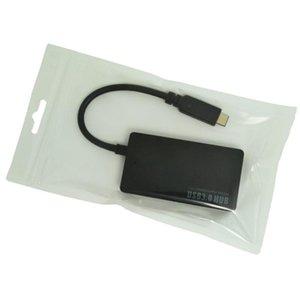 Cgjxs Usb 3 .1 Тип -C 4 портов USB3 +0,0 концентратор высокой мощности системы питания Multiple адаптер для Macbook и любого другого устройства с USB Type C порт