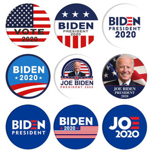 5.8CM Biden Badges President 2020 Election Democratic Tinplate Brooch Accessories Creative BIDEN Supporters Brooch Gifts Free Shipping