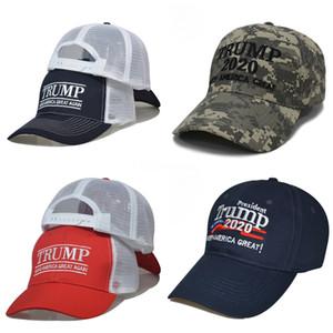 New Donald Trump Hat 2020Keep Amerika groß camo Hüte Günstige justierbarer Baseball-Cap # 802